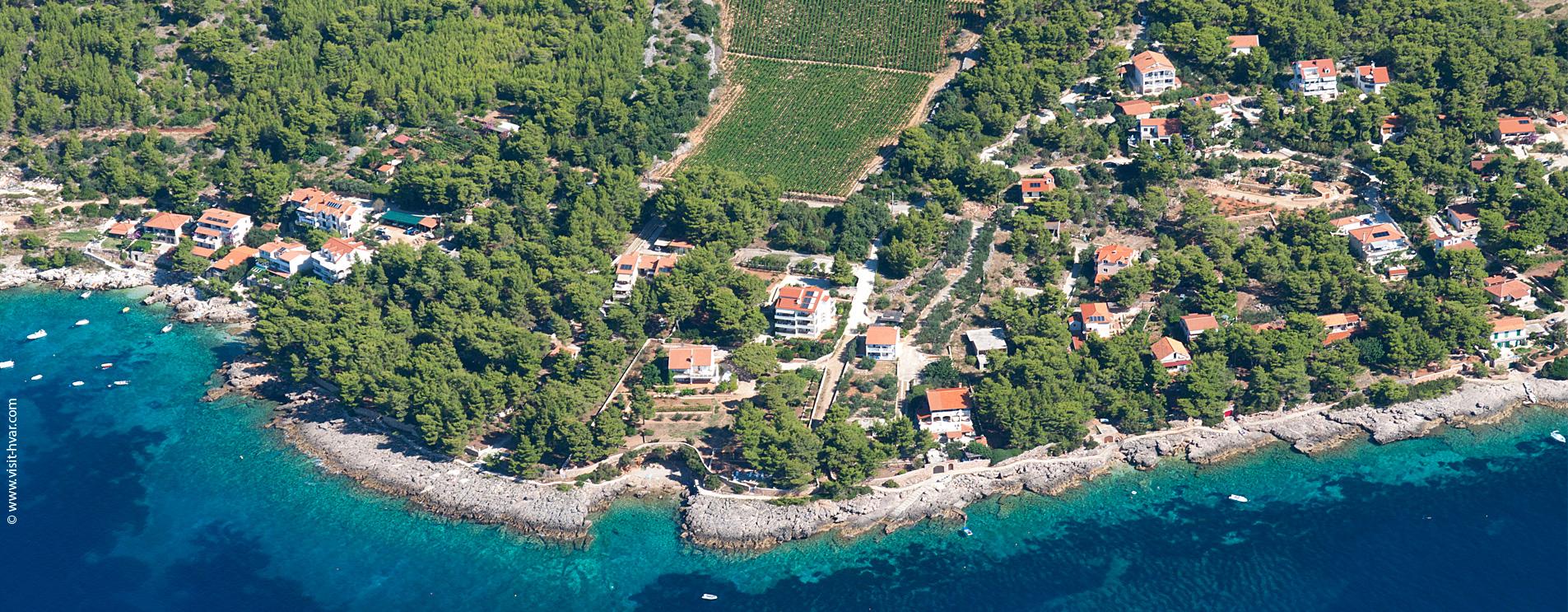 Willkommen in Zavala und sonnigen Insel Hvar